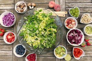 ingrédients pour composer une salade