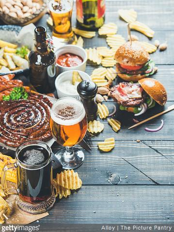Quoi manger avec de la bière ?